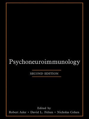 cover image of Psychoneuroimmunology