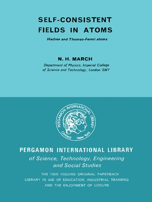 cover image of Self-Consistent Fields in Atoms
