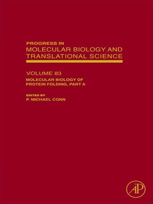cover image of Progress in Molecular Biology and Translational Science, Volume 83