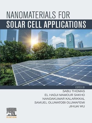 cover image of Nanomaterials for Solar Cell Applications