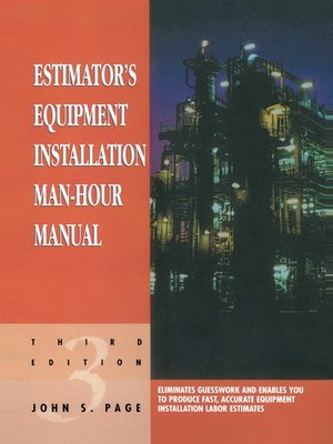 estimator s equipment installation man hour manual by john s page rh overdrive com Quick Installation Guide estimator's equipment installation man-hour manual pdf download