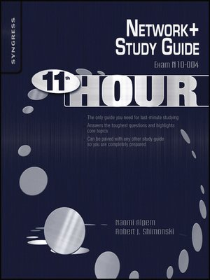 cover image of Eleventh Hour Network+