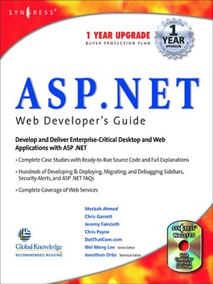 cover image of ASP.Net Web Developer's Guide