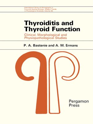cover image of Thyroiditis and Thyroid Function