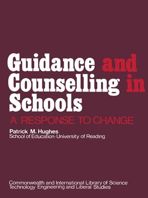 cover image of Guidance and Counselling in Schools
