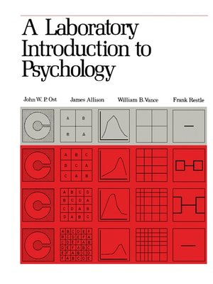 cover image of A Laboratory Introduction to Psychology