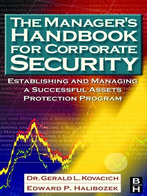 cover image of The Manager's Handbook for Corporate Security