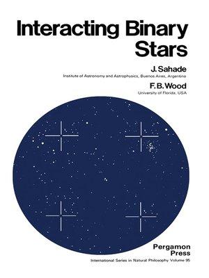 cover image of Interacting Binary Stars