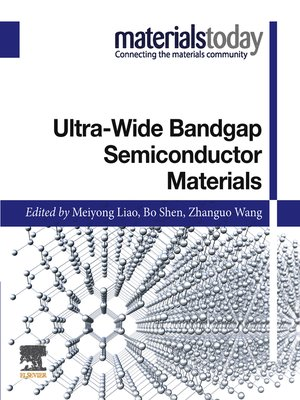 cover image of Ultra-wide Bandgap Semiconductor Materials