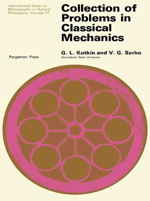 cover image of Collection of Problems in Classical Mechanics