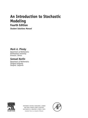 an introduction to stochastic modeling student solutions manual e rh overdrive com solutions manual introduction to linear algebra fourth edition by gilbert strang solutions manual introduction to quantum mechanics griffiths pdf