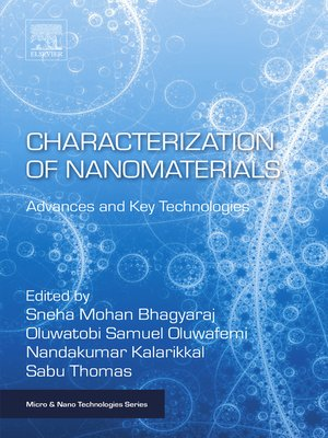 cover image of Characterization of Nanomaterials