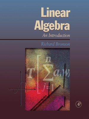 Linear Algebra by Tom M  Apostol · OverDrive (Rakuten