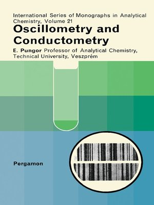 cover image of Oscillometry and Conductometry