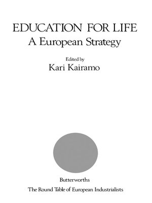 cover image of Education for Life