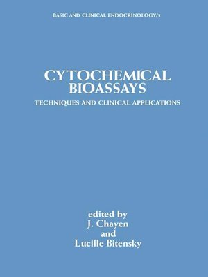 cover image of Cytochemical Bioassays