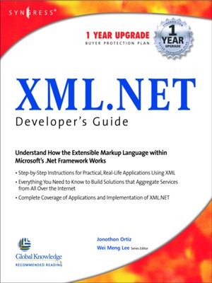 cover image of XML Net Developers Guide