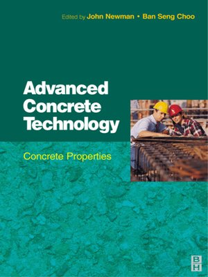 cover image of Advanced Concrete Technology 2