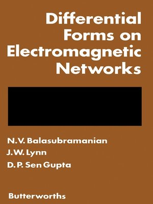 cover image of Differential Forms on Electromagnetic Networks