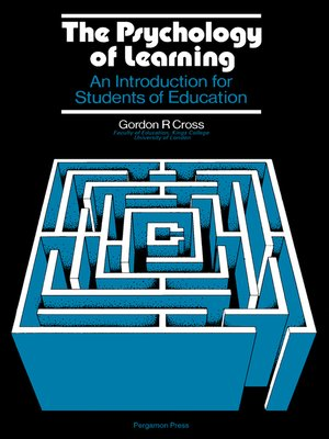 cover image of The Psychology of Learning