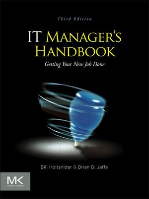 cover image of IT Manager's Handbook
