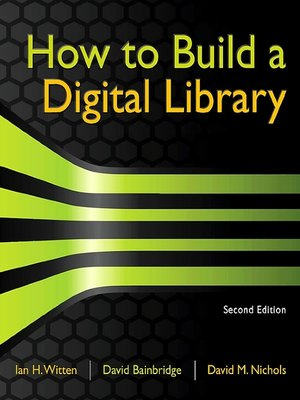 cover image of How to Build a Digital Library