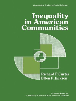cover image of Inequality in American Communities