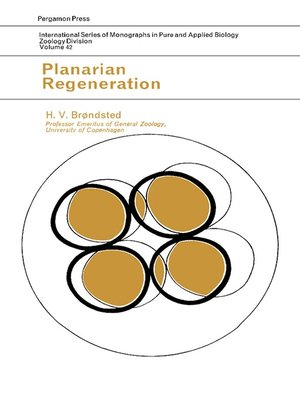 cover image of Planarian Regeneration
