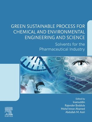cover image of Green Sustainable Process for Chemical and Environmental Engineering and Science