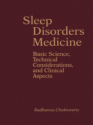 cover image of Sleep Disorders Medicine