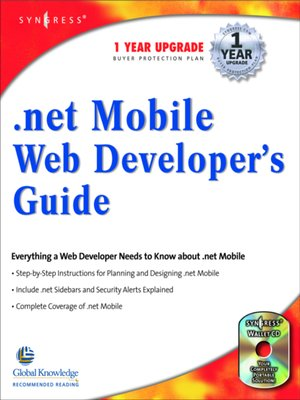 cover image of .NET Mobile Web Developers Guide