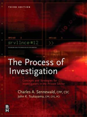 cover image of Process of Investigation