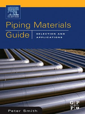 cover image of Piping Materials Guide
