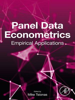 cover image of Panel Data Econometrics