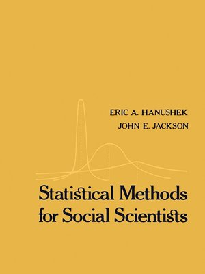 cover image of Statistical Methods for Social Scientists