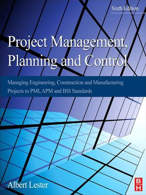 cover image of Project Management, Planning and Control