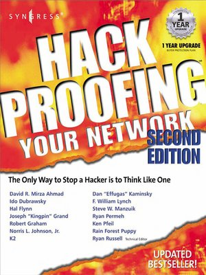 cover image of Hack Proofing Your Network