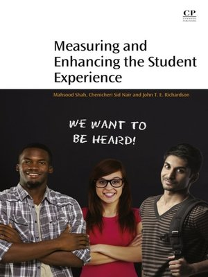 cover image of Measuring and Enhancing the Student Experience