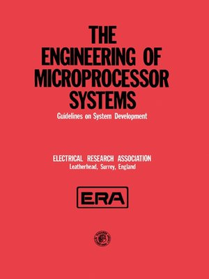 cover image of The Engineering of Microprocessor Systems