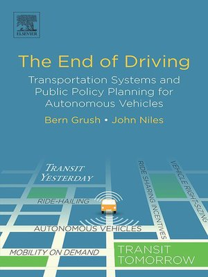 cover image of The End of Driving