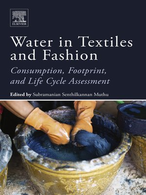 cover image of Water in Textiles and Fashion