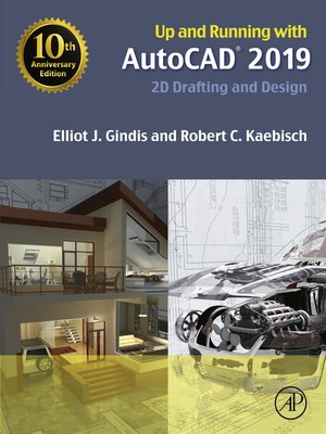 cover image of Up and Running with AutoCAD 2019