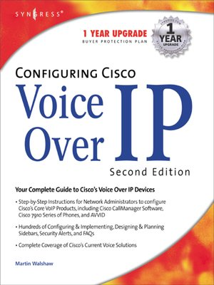 cover image of Configuring Cisco Voice Over IP 2E