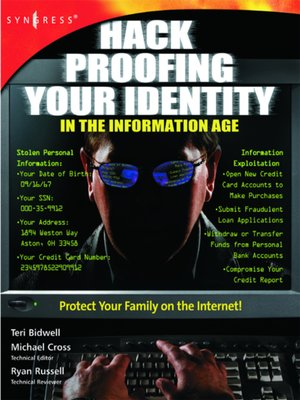 cover image of Hack Proofing Your Identity In the Information Age