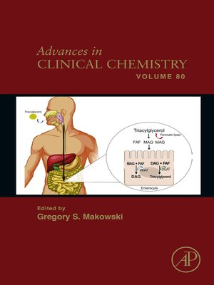 cover image of Advances in Clinical Chemistry, Volume 80