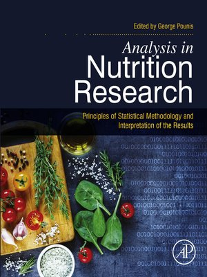 cover image of Analysis in Nutrition Research