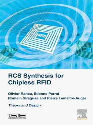 cover image of RCS Synthesis for Chipless RFID