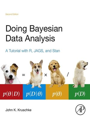 cover image of Doing Bayesian Data Analysis