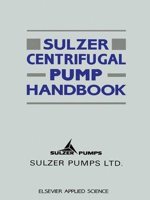 Pump Handbook Ebook