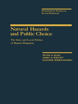 cover image of Natural Hazards and Public Choice